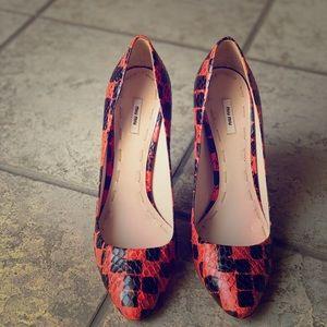 Used high heels